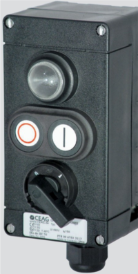 Ex- Start, Stop, Signal, Emergency Stop etc. Control Boxes