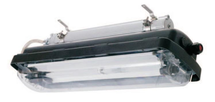 AVFC Exproof Polyester Fluorescent Lighting Fixture - COSIME