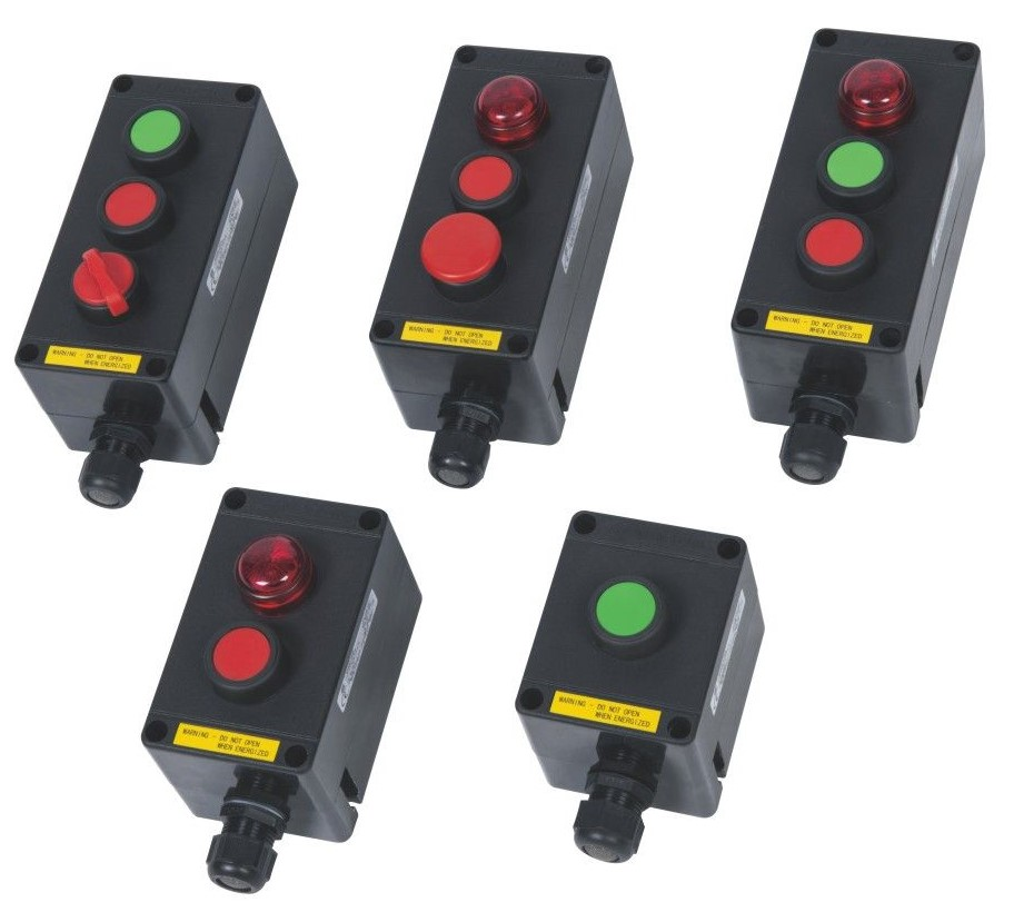 BZA8050 Series GRP Exproof Control Unit Systems